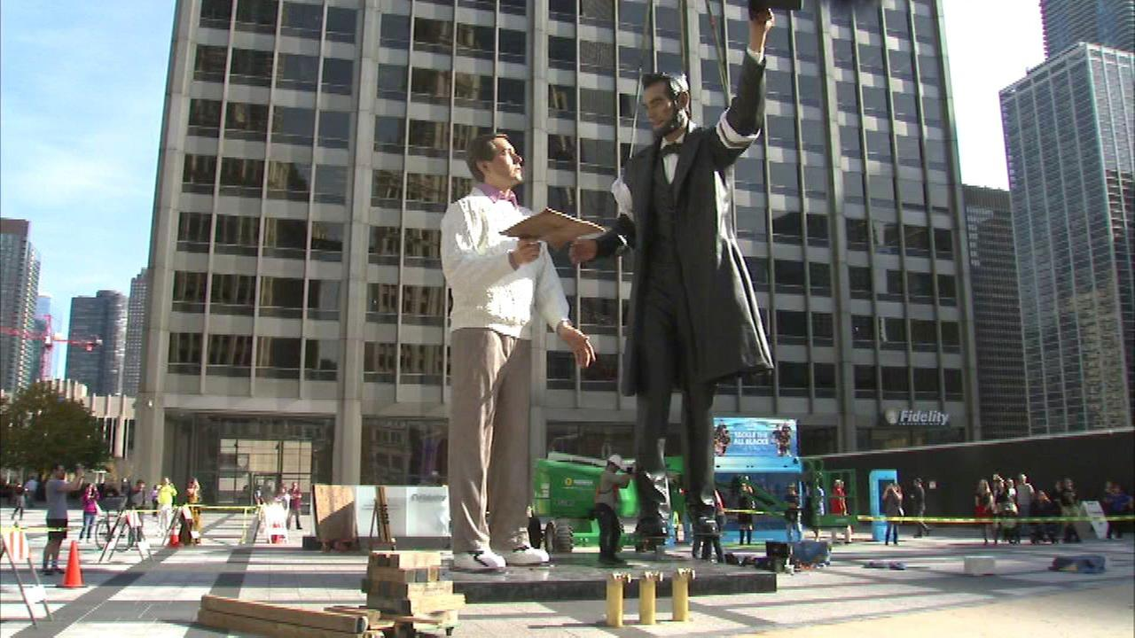 Abraham Lincoln statue installed downtown