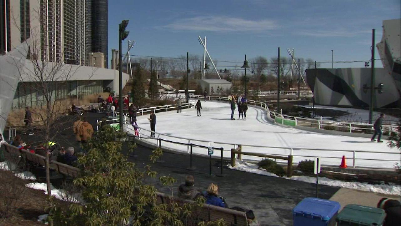 Maggie Daley Park ice skating ribbon opening delayed