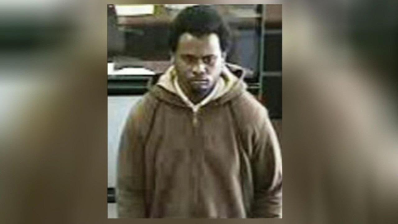 Surveillance photo of a suspect.