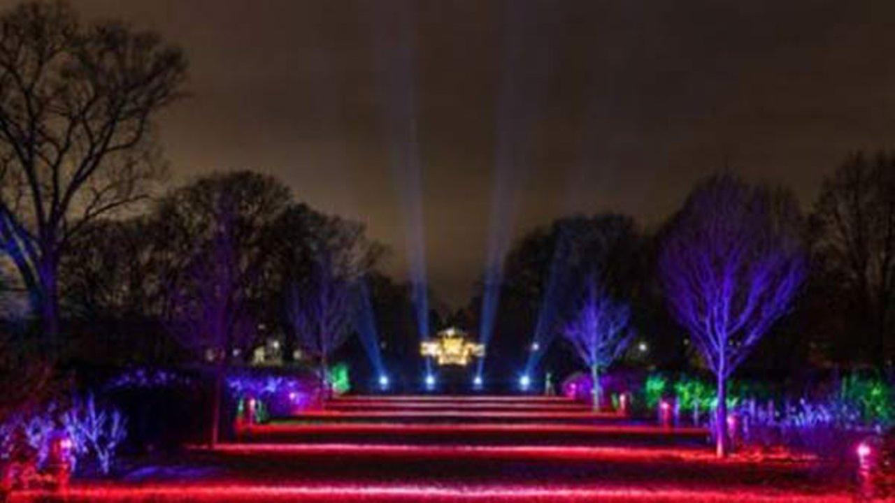 Morton Arboretum light show opens Friday