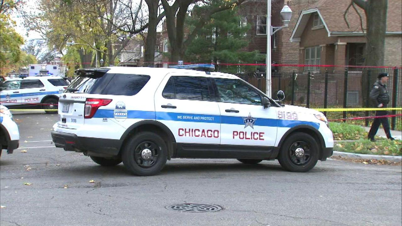 Chicago police investigate after a fatal shooting in the Austin neighborhood ion Saturday.