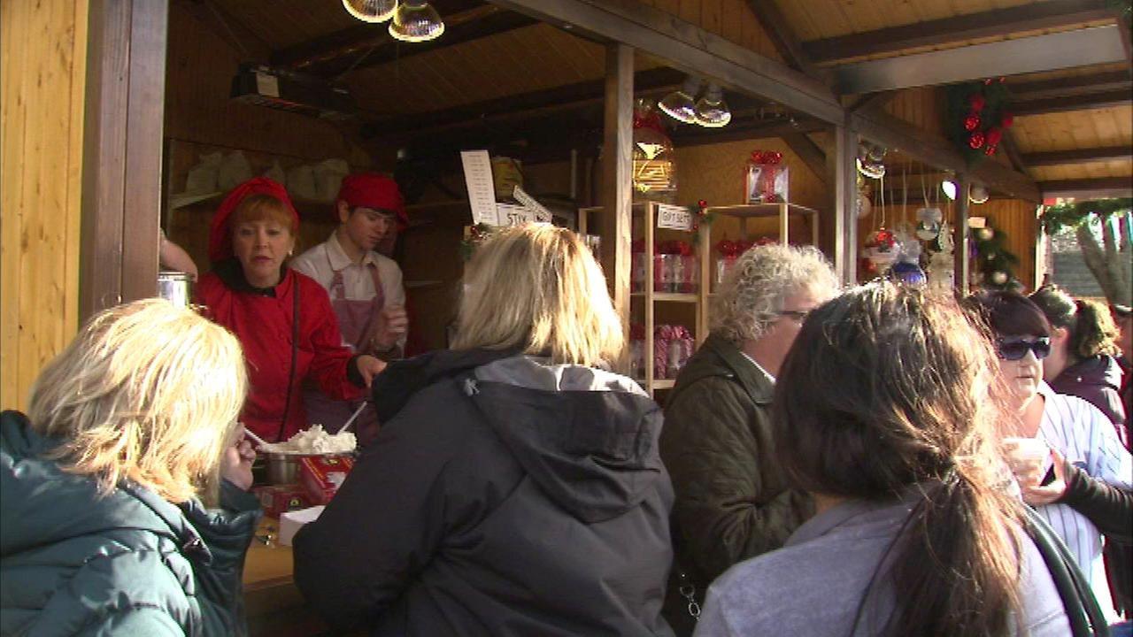 Christkindlmarket open in Daley Plaza, Naperville