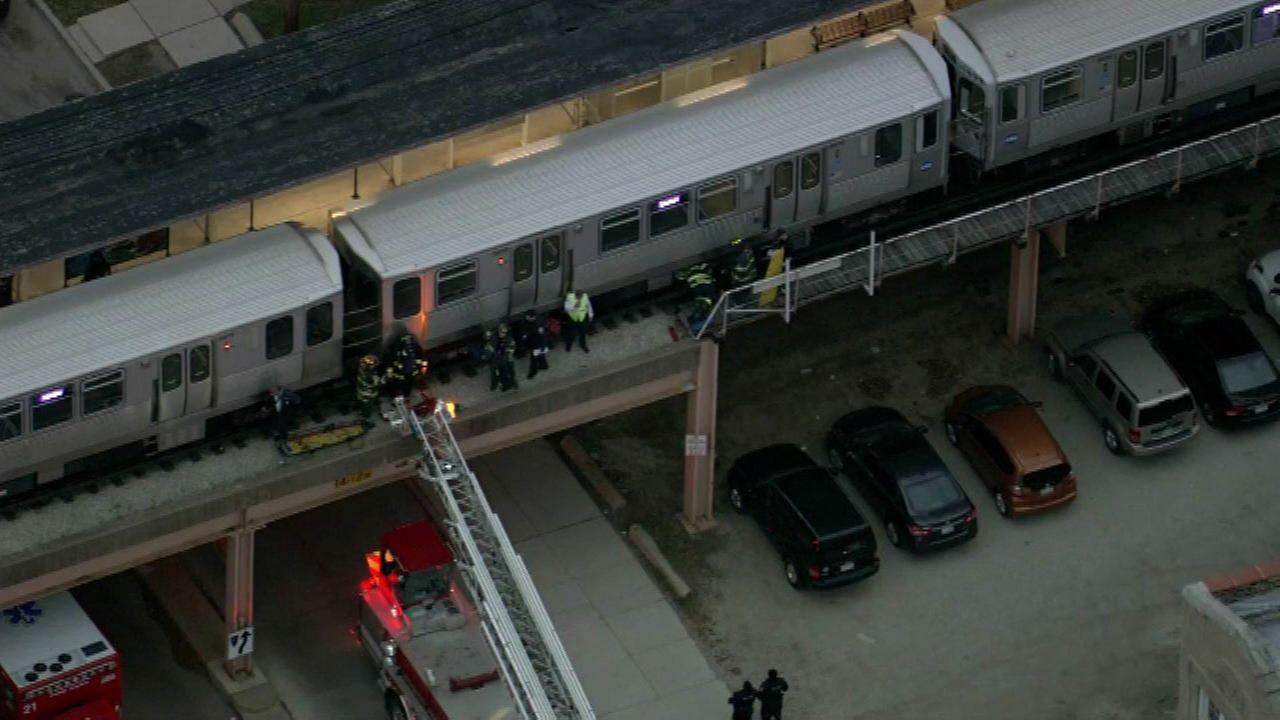 Person fatally struck by CTA Purple Line train in Evanston