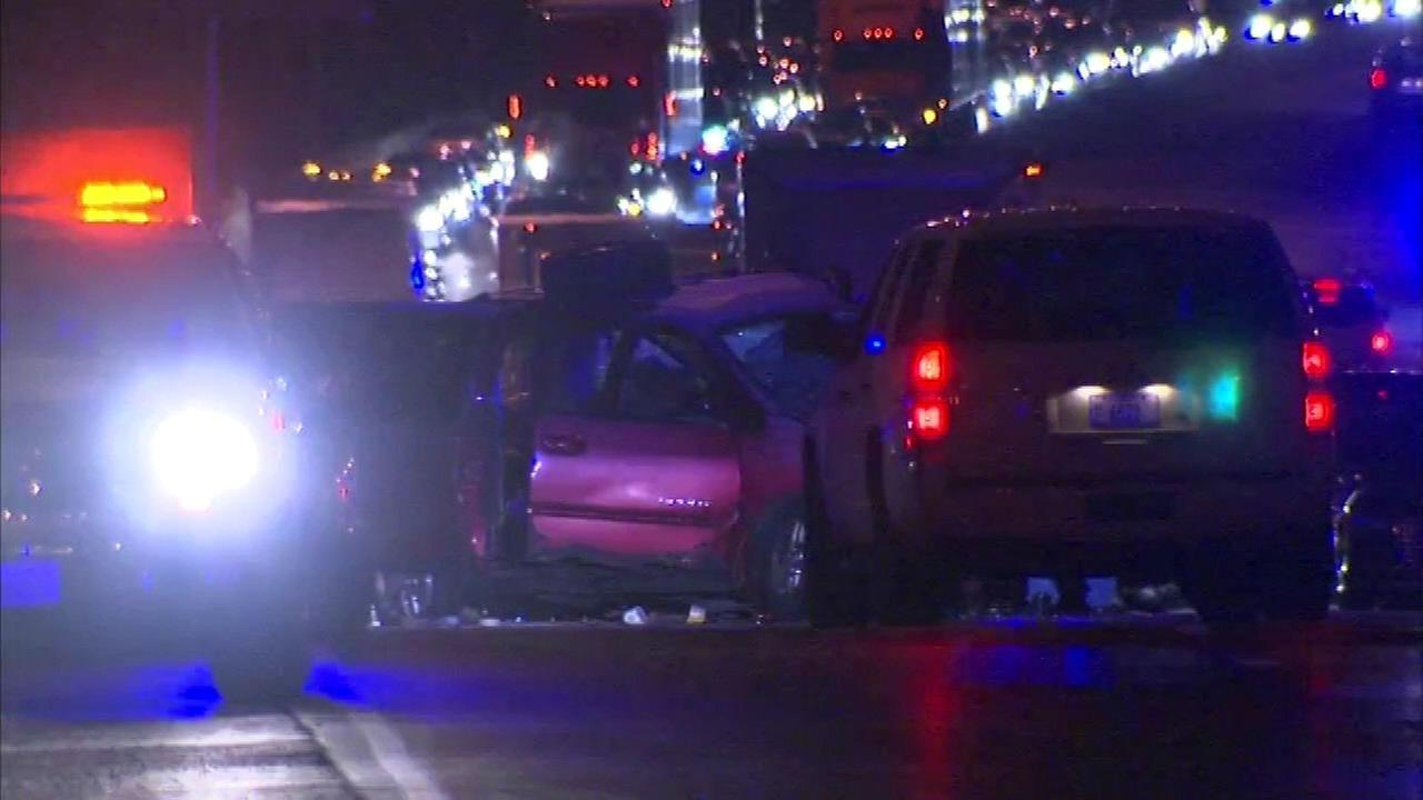 Police: 1 killed, 1 injured in wrong-way crash on Skyway