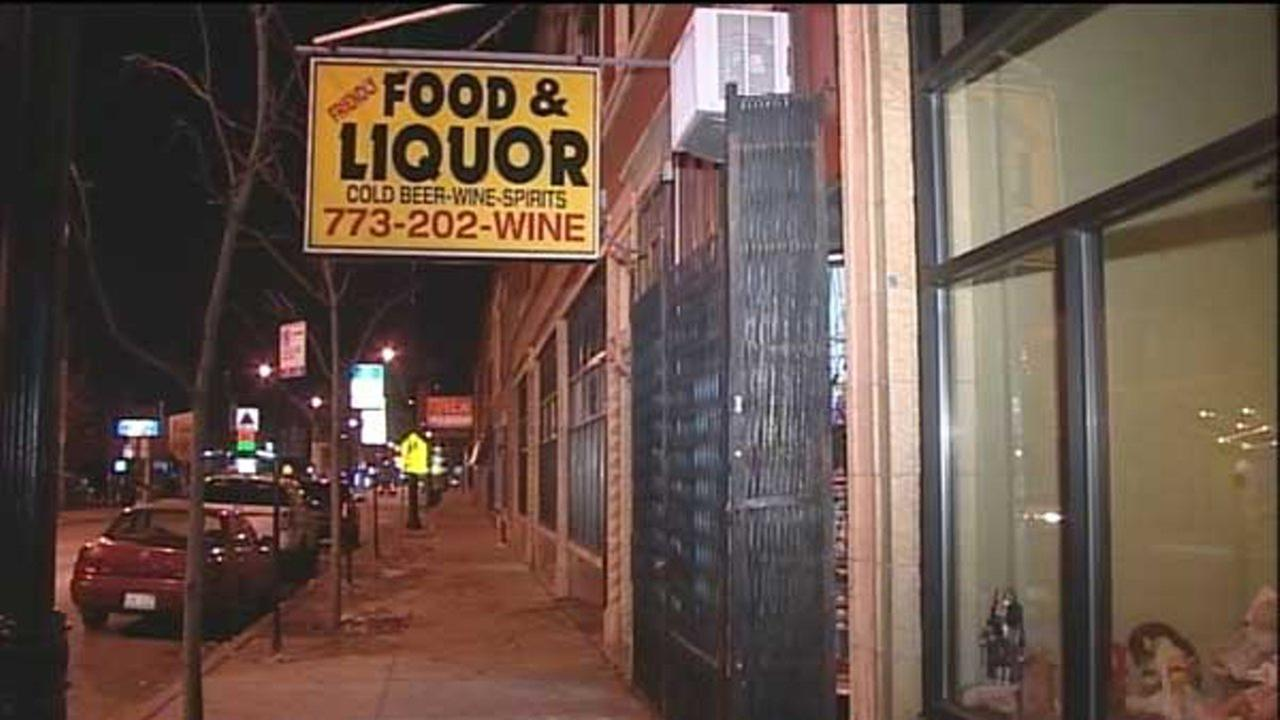 Shots fired during Portage Park liquor store robbery