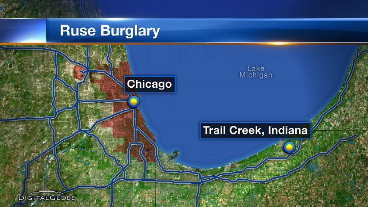 Woman, 88, robbed by 2 men offering to clear driveway in NW Indiana