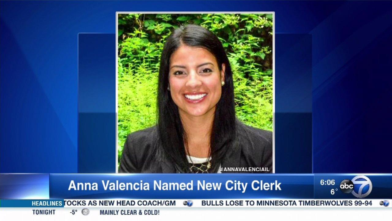Mayor Emanuel names Anna Valencia to replace Susana Mendoza as city clerk