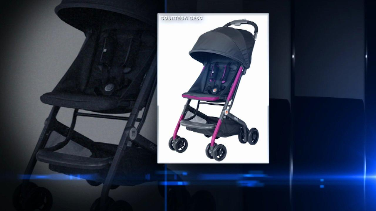 Thousands of strollers recalled due to risk of laceration, collapse