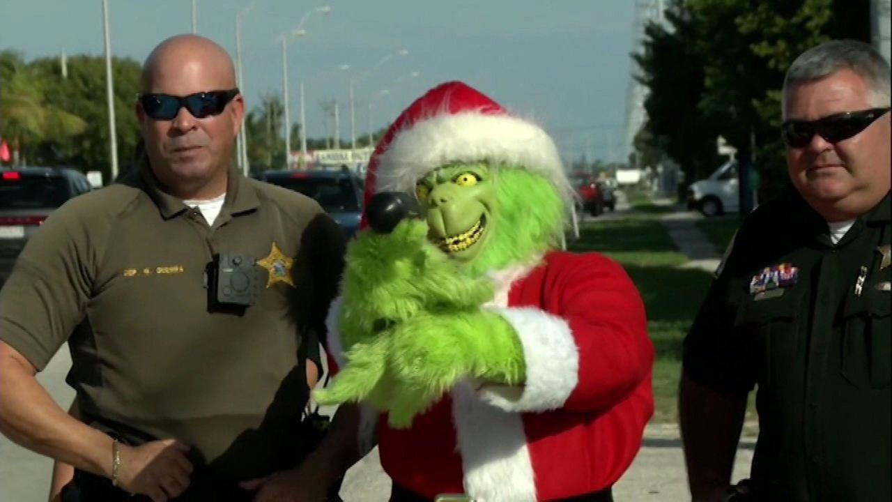 Grinch issues special warning to speeding Florida Keys drivers