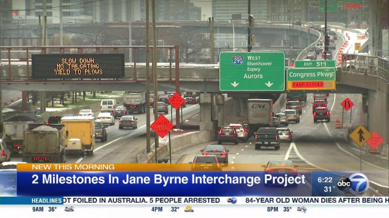 Dan Ryan flyover, Taylor St bridge now open