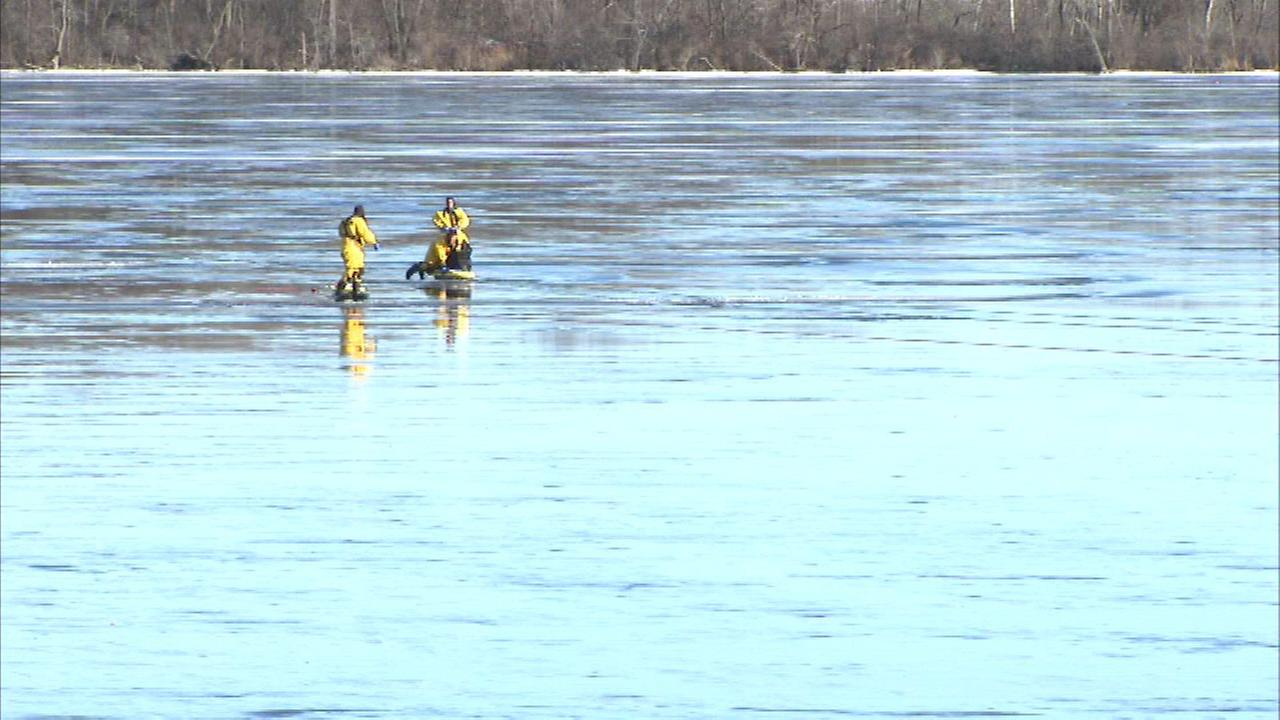 Authorities ID man found dead on ice at Deep Lake in Lake Villa