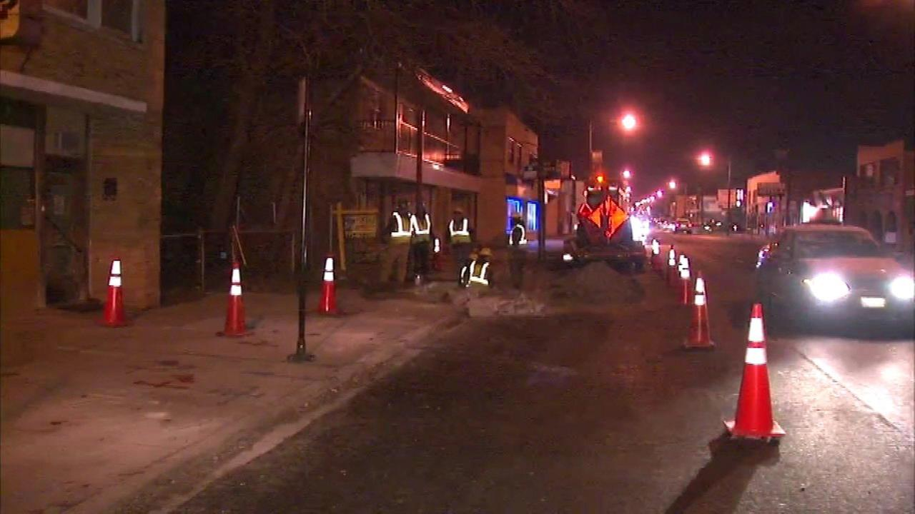 Crews make repairs after Belmont Central gas leak
