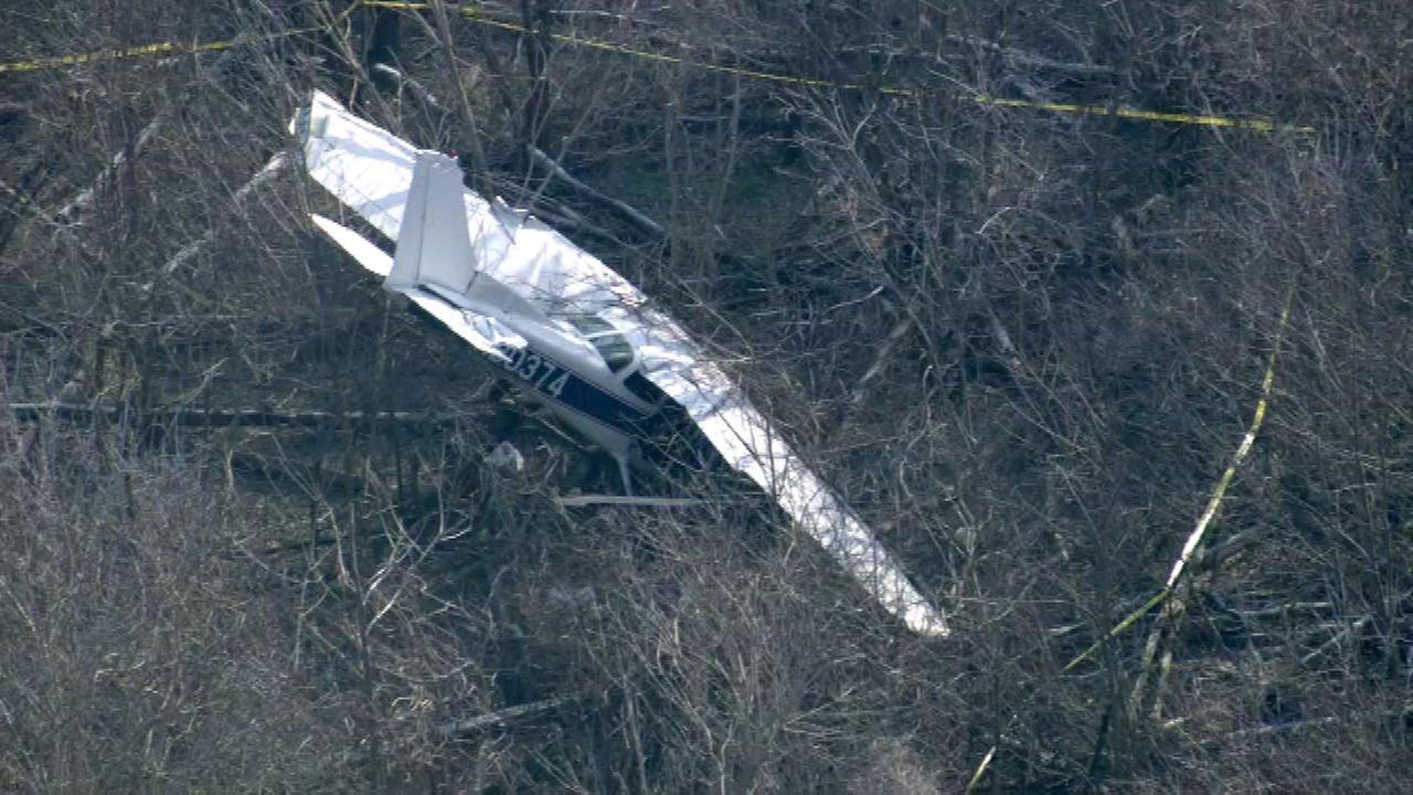 Plane skids off runway in Hobart, Ind.