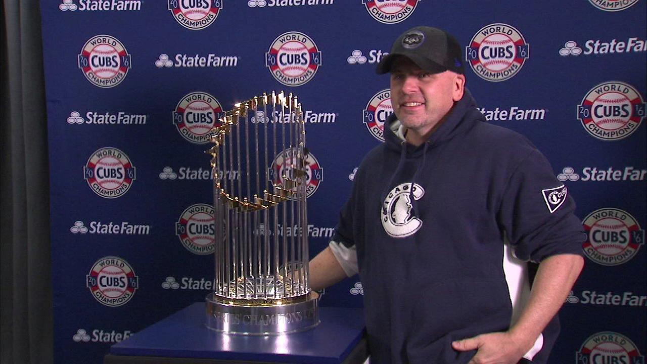 Cubs' Trophy Tour scheduled to make stops throughout Chicago area