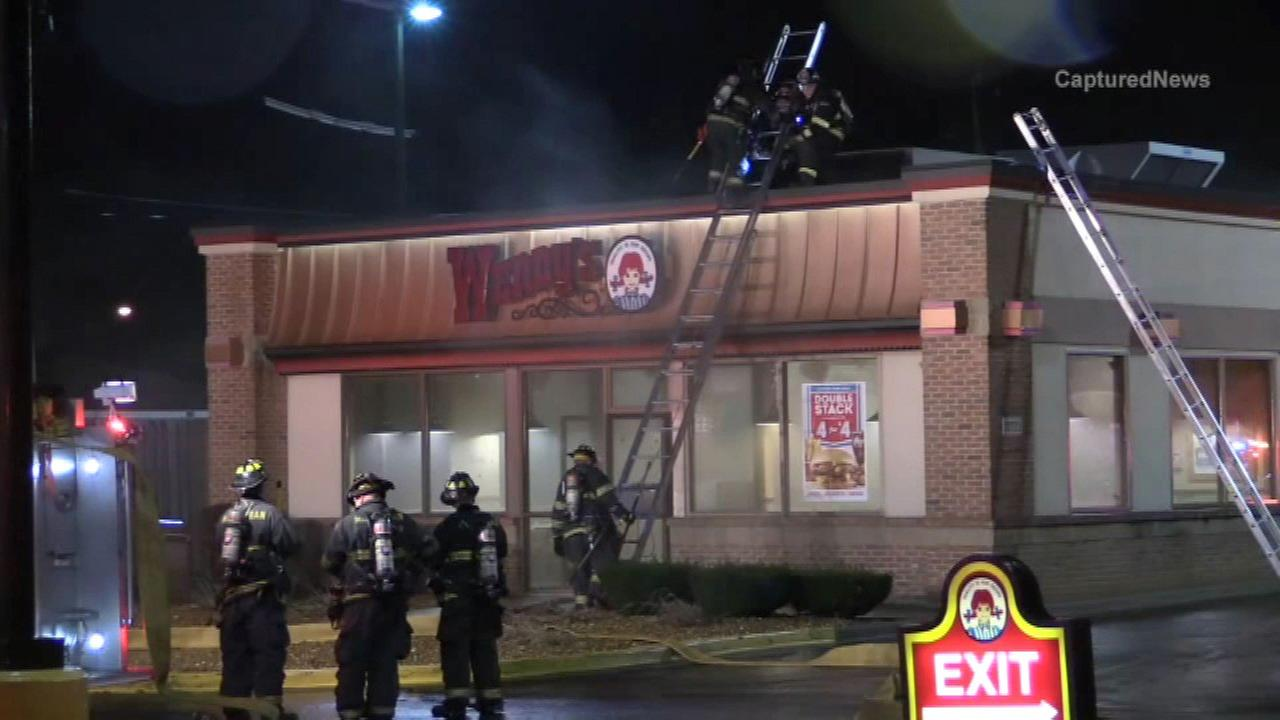Grease fire closes Calumet Park Wendy's