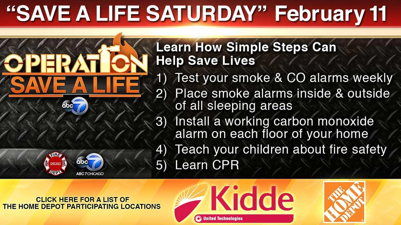Save a Life Saturday: Participating Home Depot locations