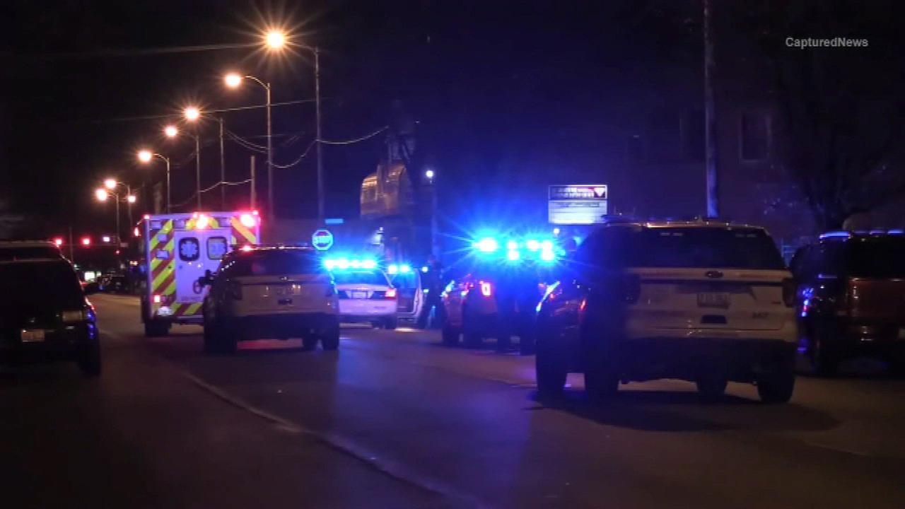Chicago police investigate after an officer was dragged by a vehicle in the Austin neighborhood.