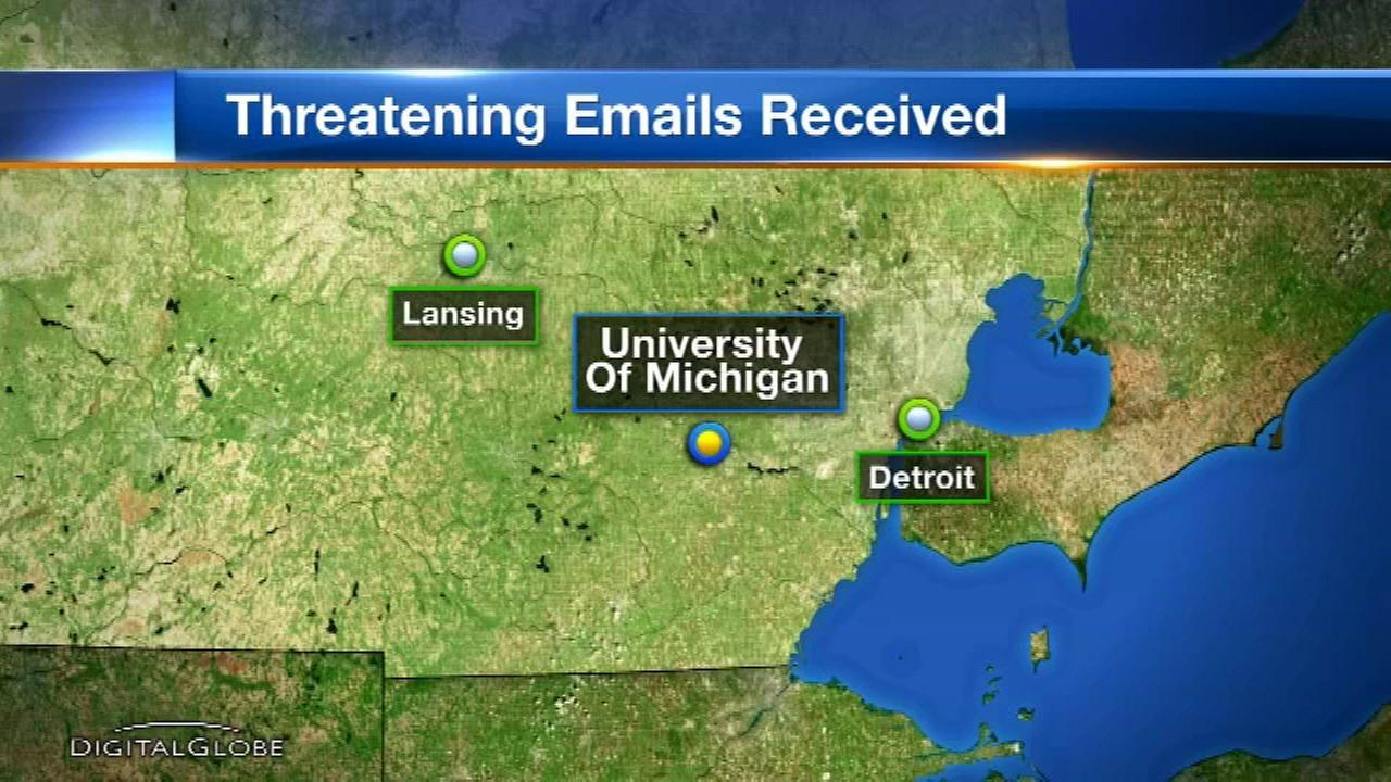 Police: University of Michigan students received racist, threatening emails