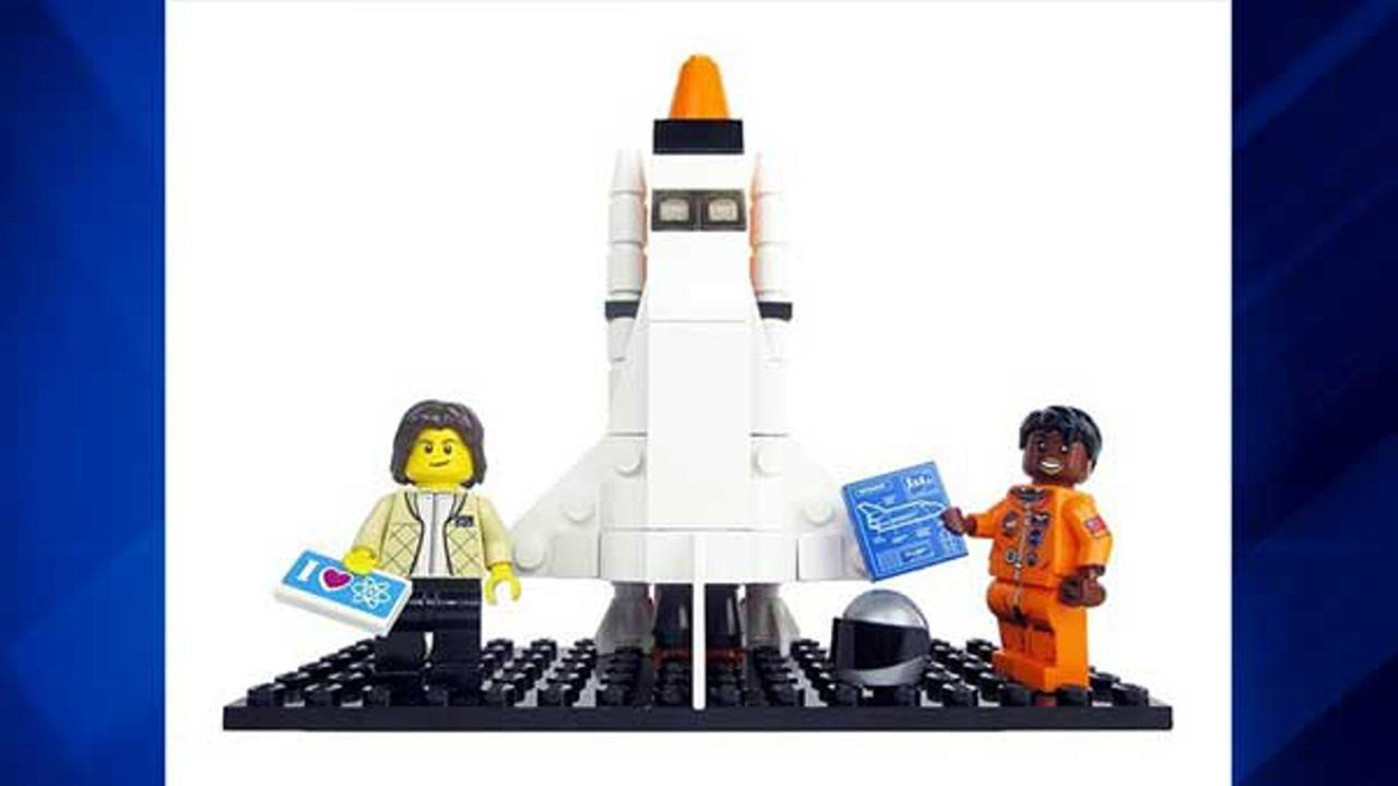 The Women of NASA Lego set was designed by science writer Maia Weinstock, the deputy editor of MIT News, and pitched with the headline Ladies rock outer space!