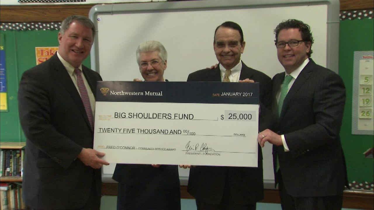 Big Shoulders Fund receives grant for Catholic schools