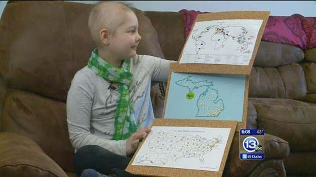 cards continue to pour in for 8 year old battling cancer - What To Get An 8 Year Old For Christmas