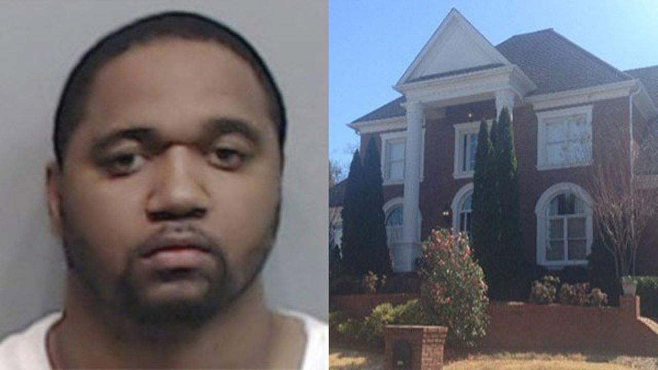 Kenndric Roberts, 33, has been arrested and is accused of holding several women against their will inside his mansion.