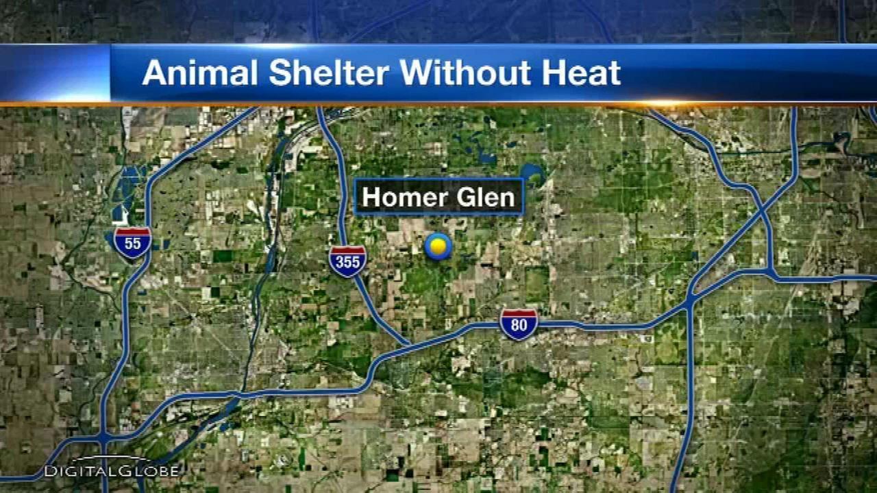 Homer Glen animal shelter gets new furnace after not having heat