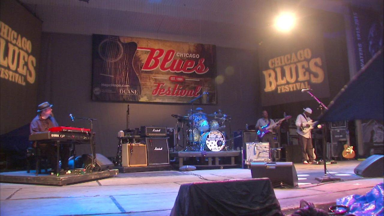 FILE: Buddy Guy plays at Chicago Blues Fest in 2015.