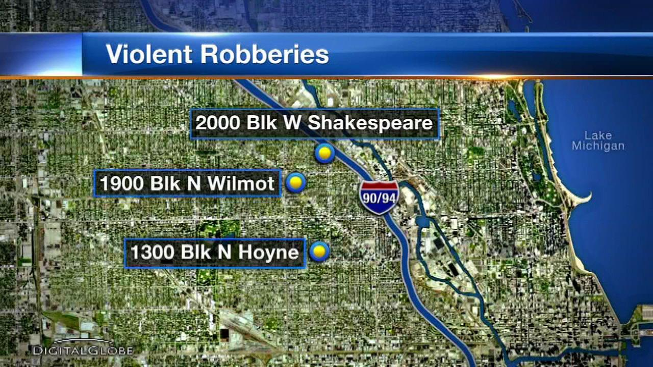 Young men hit, kick victims in Bucktown robberies, police say