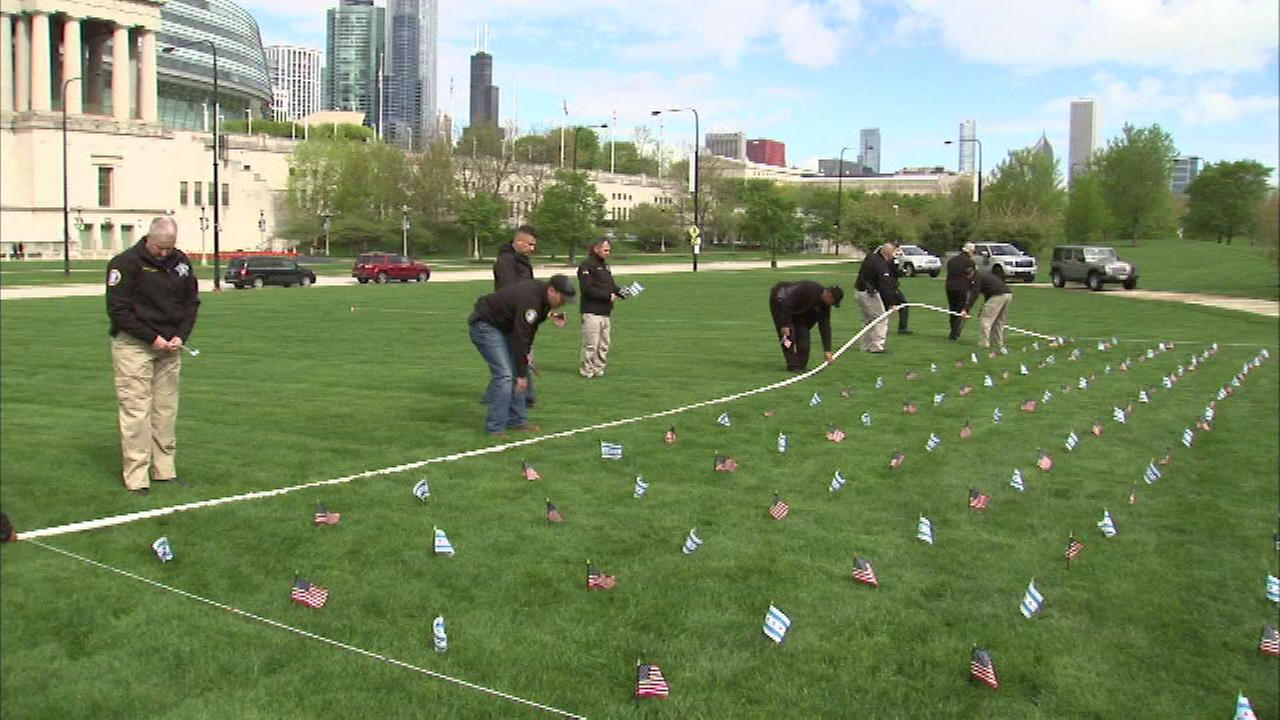 24-hour vigil honors fallen Chicago police officers