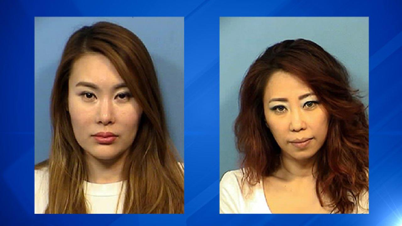 Eun Sun Lee (left) was charged with prostitution and unlicensed massage therapy. Young Me Chang (right) was charged with unlicensed massage therapy.