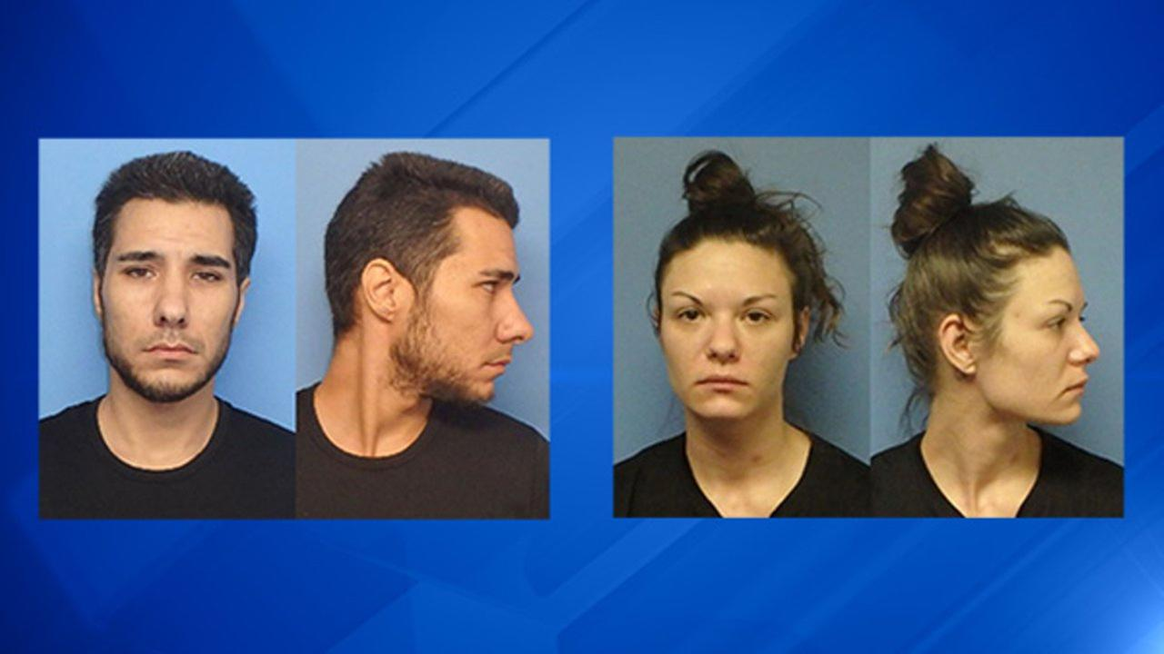 Joseph Ribaudo and Jaclyn Marquardt were charged with robbing an elderly woman on two occasions.