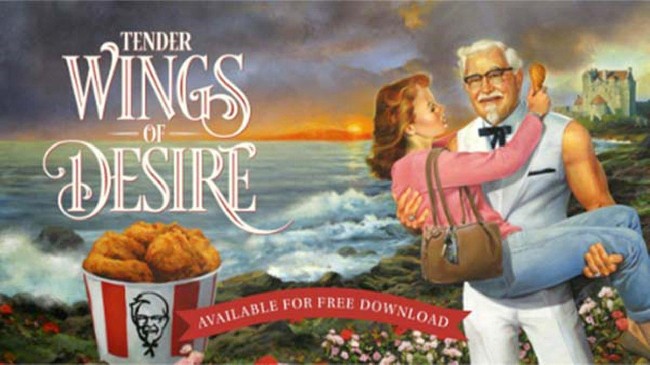 KFC releases romance novel starring Colonel Sanders for Mother's Day