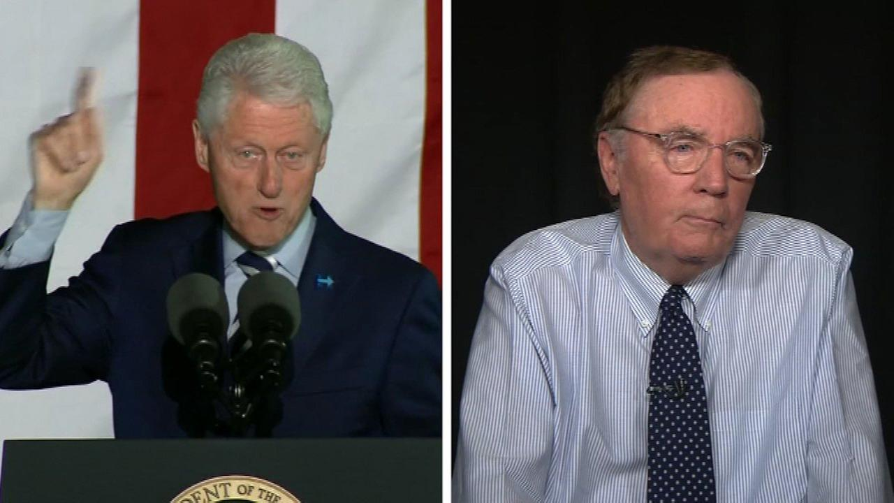 Bill Clinton and James Patterson are writing a novel