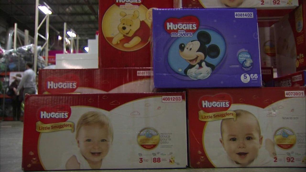 Huggies donates diapers for needy families