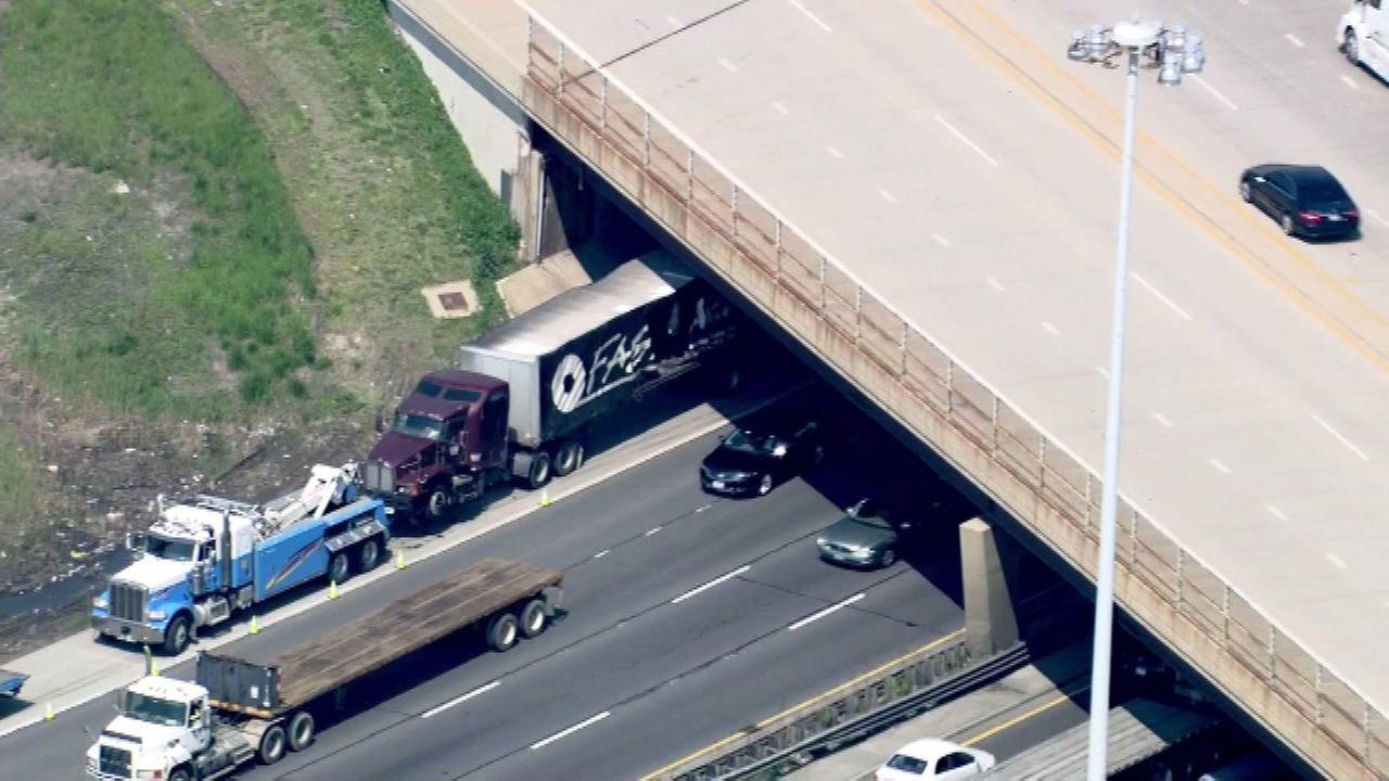 OB Bishop Ford reopens after truck crash spills 40K lbs. of steel