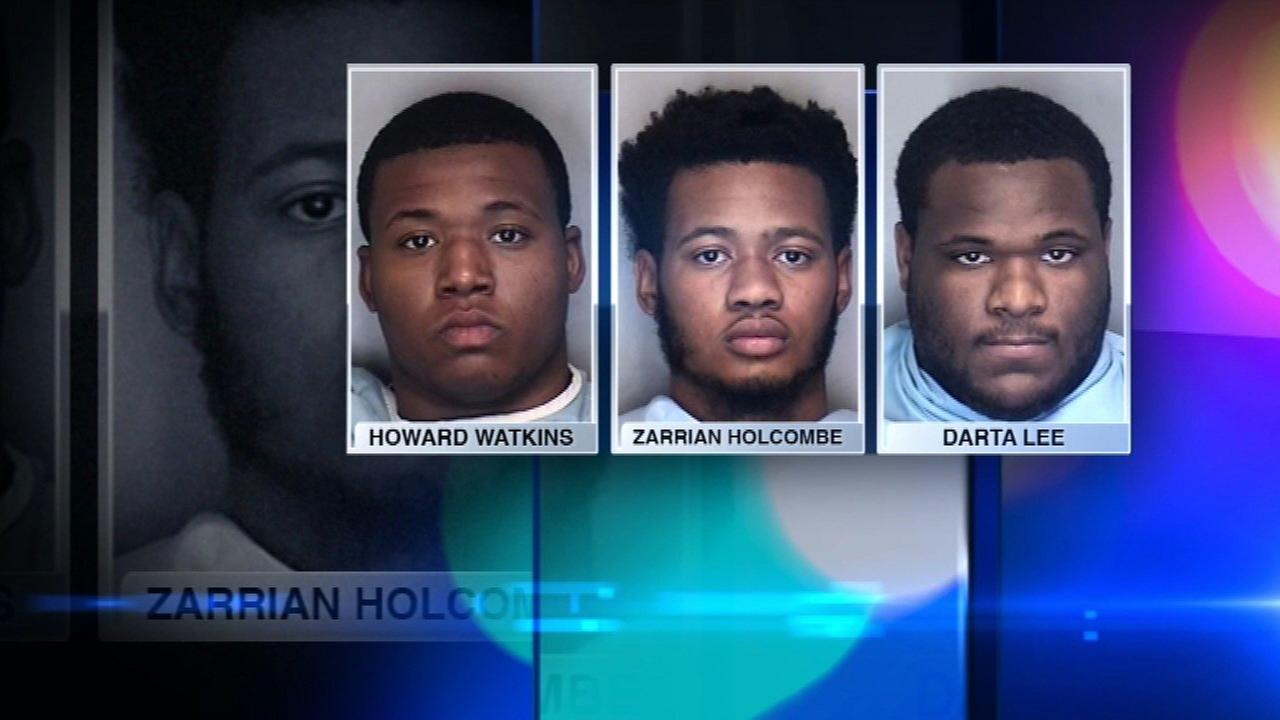 3 University of Illinois football players arrested in alleged robbery