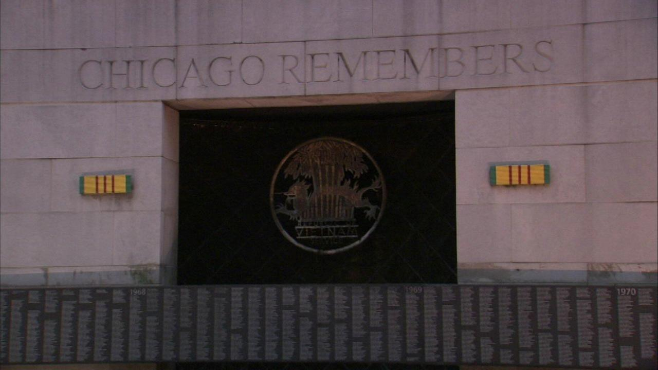 Chicago Vietnam Veterans Memorial Wal
