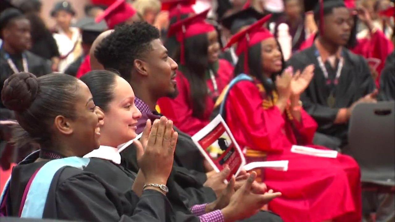 Gary high school's graduates all headed to college, military