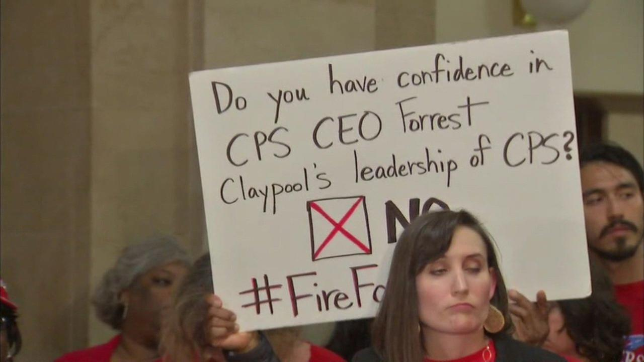 Chicago Teachers Union calls for firing of Claypool