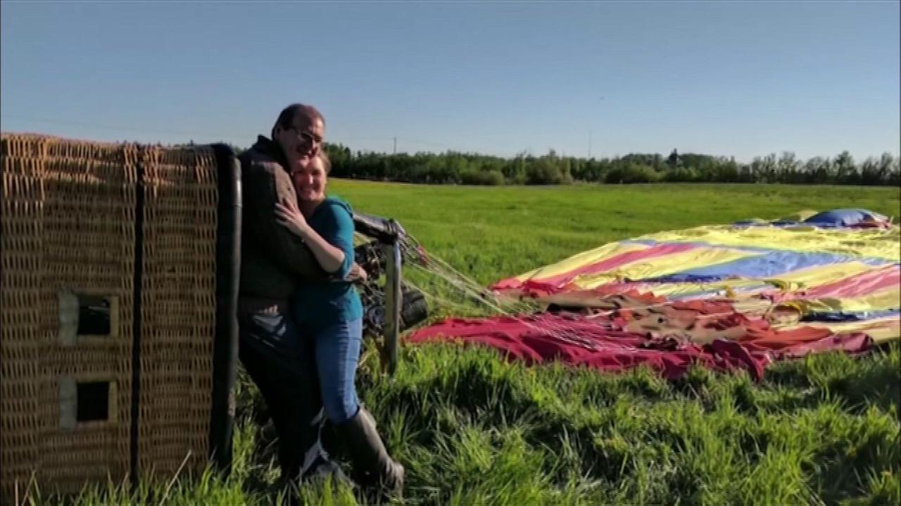 VIDEO: Hot air balloon crashes after man proposes to girlfriend