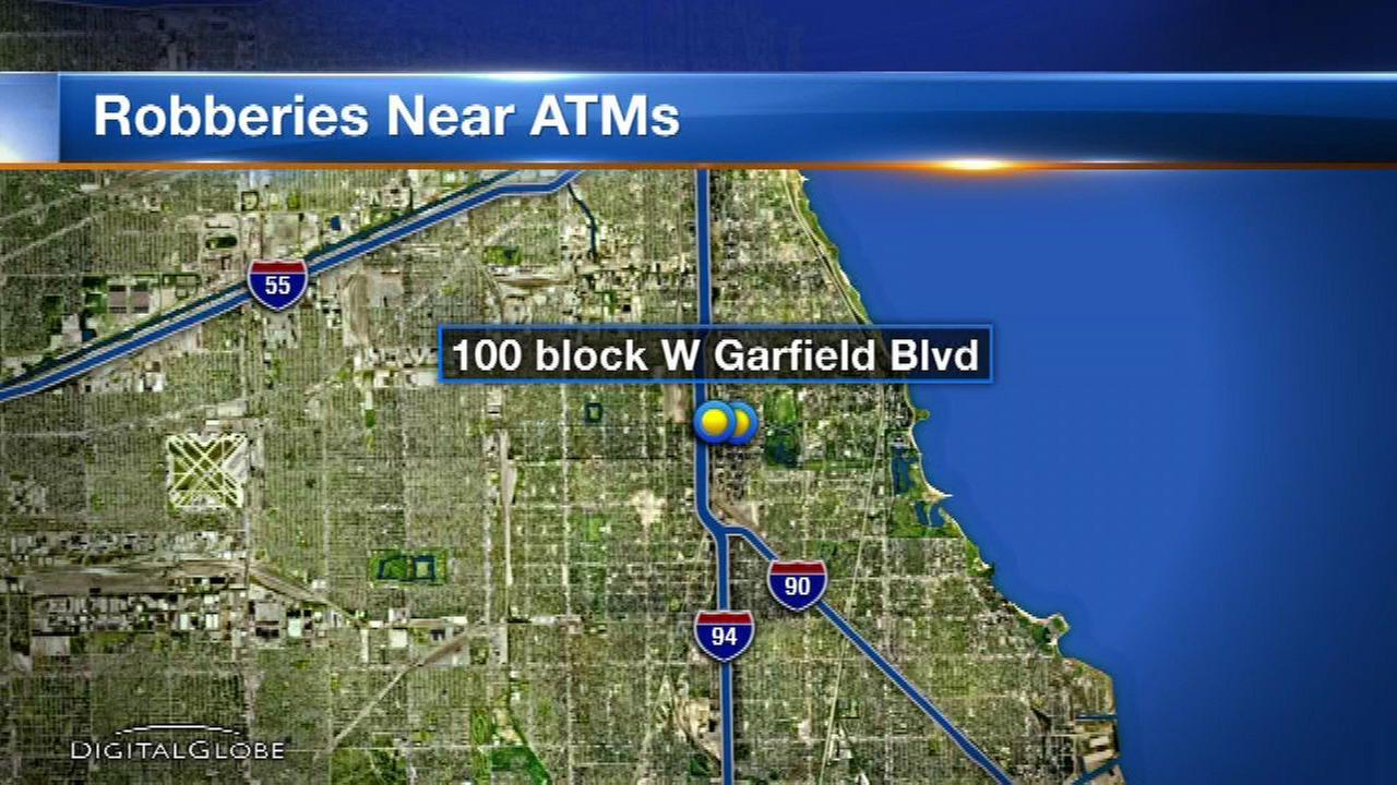 Police: Victims robbed after withdrawing money from South Side ATM