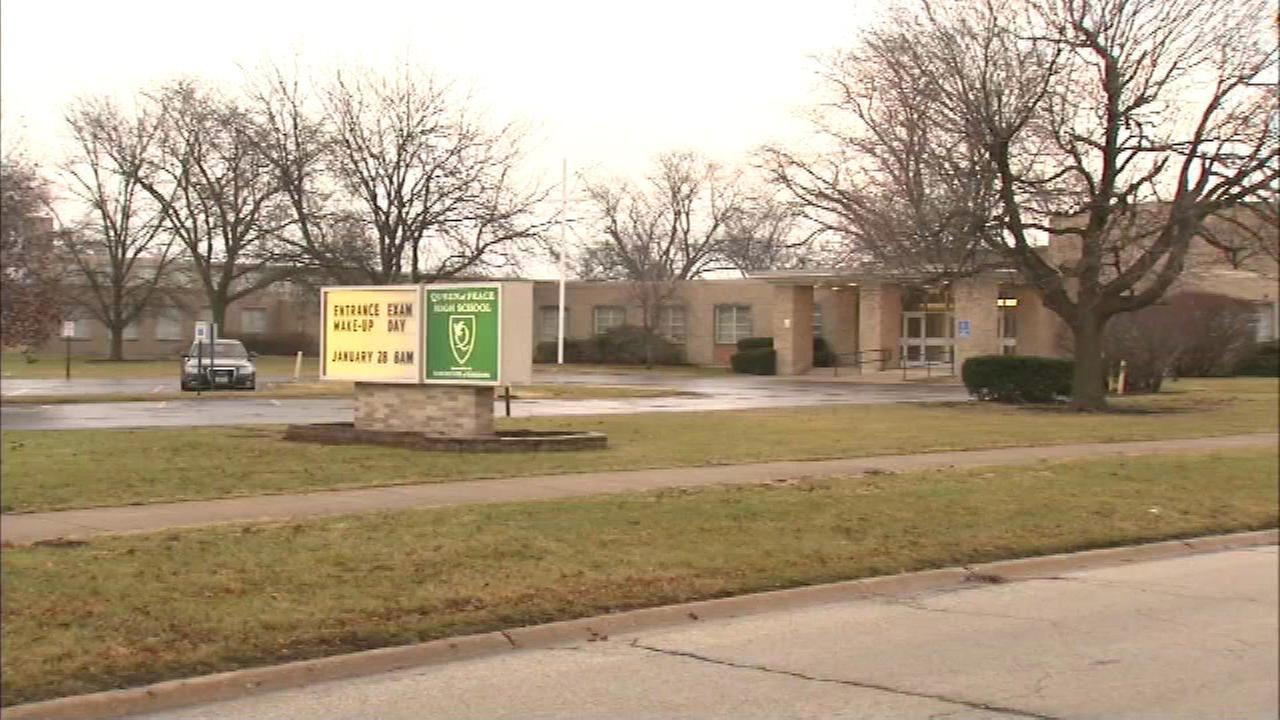 Queen of Peace High School.