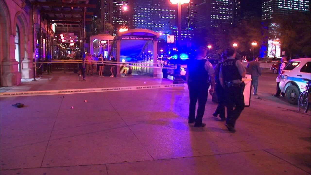 Man, 21, shot near Millennium Park in downtown Chicago