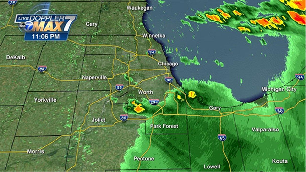Chicago Weather: Storms move through Chicago area