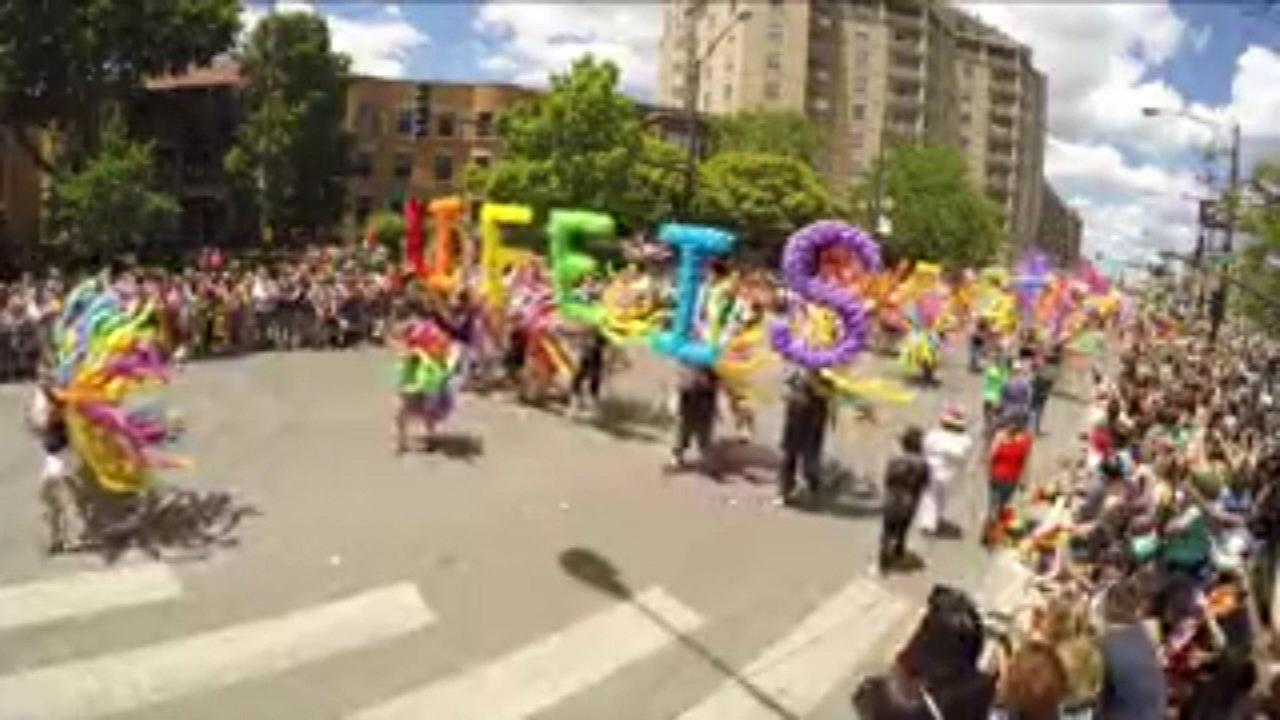 The 48th Annual Chicago Pride Parade.