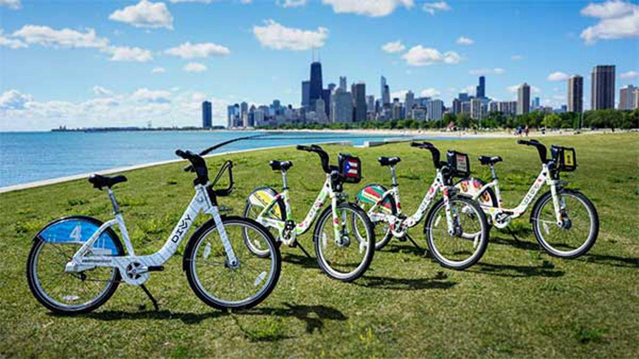 Divvy celebrates 4th anniversary with Chicago food-themed bikes