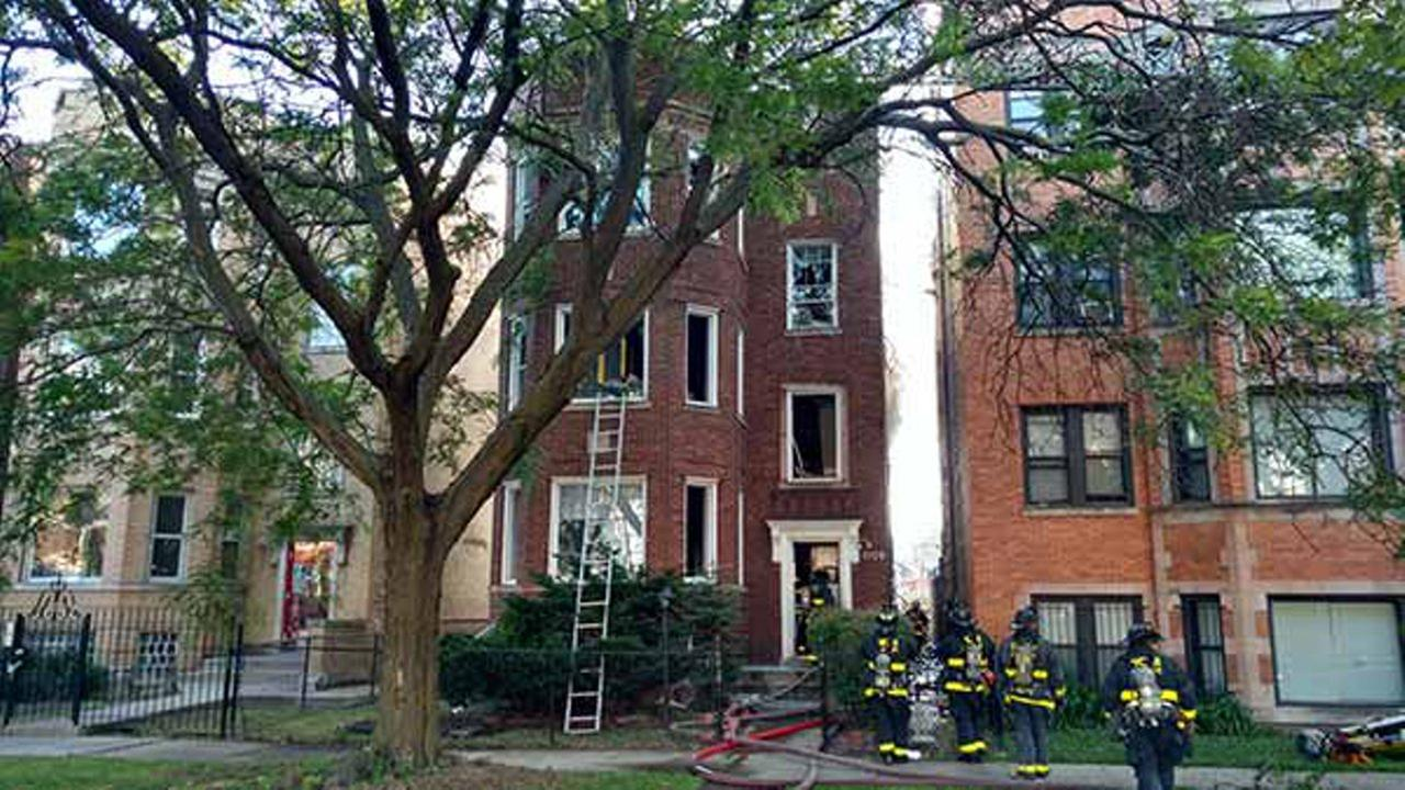 3 treated at scene of East Chatham fire