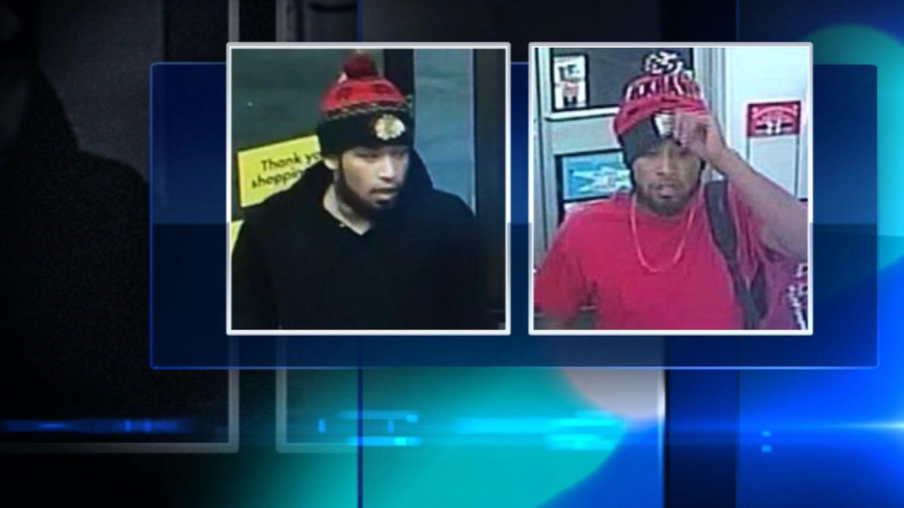 Chicago police are searching for a man who robbed three businesses on Chicagos North West Side in the past week.