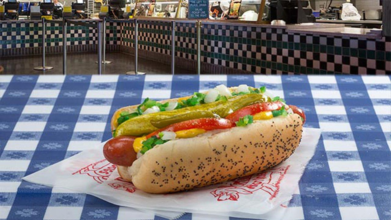 Portillo's offering $1 dogs on National Hot Dog Day